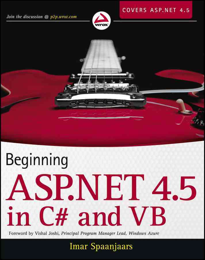 Beginning Asp.net 4.5 By Spaanjaars, Imar